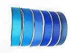 "Wholesale Grossgrain Ribbon 1.5"" /38mm. 100 Yards,all Blue s colors to Choose"