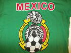Green Red White Mexico Soccer T shirt Short sleeve Mexico De futbol T shirt L