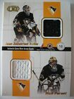 2001-02 PACIFIC HEADS UP QUAD JERSEYS PITTSGURGH  PENGUINS  BOX  52