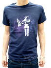 MENS Spaceman space sci-fi t shirt tee tshirt 80s indie spaceship retro vtg NEW
