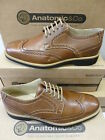 "Anatomic Gents Cognac Leather Brogues ""Tucano"""