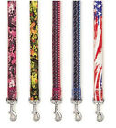 Casual Canine Neoprene Dog Leads Leash Lead, Pattern Aztec Floral Flag Pet