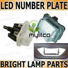 Mercedes Benz E-Class Rear Number Plate Light Lamp Xenon White Canbus LED Units