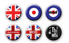 MOD PIN BADGES/MAGNETS - 25mm, 38mm or 58mm (BRITISH, WHO)