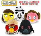 Angry Birds Star Wars 6 or 8 Inch Plush Soft Toy All Characters available! New