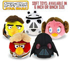 Angry Birds Star Wars 6 or 8 Inch Plush Soft Toy All Characters available New