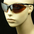 HD HIGH DEFINITION SUN GLASSES DRIVE VISION BLUE RAY BLOCKER LENS GOLF NEW MP1