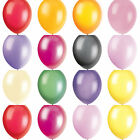 "PACK OF 10 X 12"" PREMIUM QUALITY HELIUM / AIR FILL LATEX BALLOONS CHOOSE COLOUR"