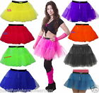 NEON TUTU SKIRT PETTICOAT  80'S  FANCY DRESS