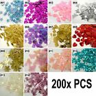 Внешний вид - 200x pcs loose mixed colors star/flower/butterfly/snowflakes SEQUIN TRIM U pick