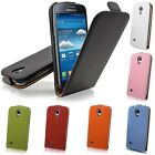 Deluxe Real Genuine Flip Leather Case Cover Pouch For Samsung Galaxy S4 IV i9500