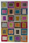 OVERDYED Vintage Turkish PATCHWORK RUG, Handmade, CUSTOM Sizes & Colors in 10day