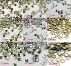 New Easy Glitter Metal Studs Rivet Punk Round Star Square DIY Nail Art 0575d HOT