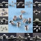 Wholesale Tibetan Silver Big Hole European Charm Bracelet Beads Animal 22 Styles