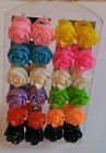 Lovely Small  Resin Rose Stud Earrings  Assorted colours to choose from