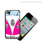 Personalised Number Plate iPhone 4 4S VW Camper Van Campervan Cover Case Gift