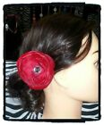 Red / Pink peony Flower HAIR CLIP hair accessories pin up rockabilly fascinator