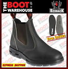 Redback UBOK Non Safety Work Boots. Elastic Sided Bobcat. Oiled-Kip. Brand New