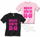 WAKE ME UP BEFORE YOU GO-GO, 80`S T SHIRT KIDS ALL SIZES,FANCY DRESS