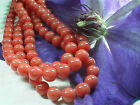Coral Mountain Jade Round Beads, 8mm, - 16 inch strands