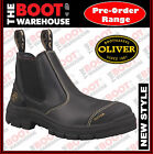 Oliver Work Boots 55227. Black, Elastic Sided, Steel Toe Safety. Brand New!
