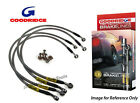 Goodridge Jaguar XJR 4.0 8-Cylinder Braided Brake Kit Lines Hoses