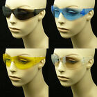 SAFETY SUN GLASSES CLEAR LENS Z87+ MEN WOMEN NEW SPORT SHOOTING MOTORCYCLE MP46