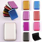 Waterproof Business ID Credit Card Unisex Wallet Pocket Case Aluminum Box Holder
