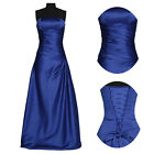 VINTAGE Blue/Red Long Wedding Bridesmaid Evening Gown Prom Party Cocktail Dress