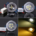 New 1W/3W/5W LED Cabinet Recessed Ceiling Down Light Fixture Lamp Kit AC 85-265V