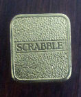 Scrabble Deluxe - Replacement Gold Tiles - Franklin Mint - A - Z