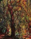 ABSTRACT TREE By Monet..Rich Color Tones in Upscale Linen Blend Wall Hanging
