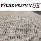 Natural Jute Hessian Fabric Cloth by the metre - 1.37m wide / 10oz - all sizes