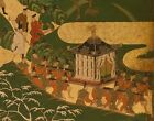 ROYAL OUTING...Oriental Potentate Image...On Upscale Linen Blend Tapestry