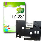 Compatible Label Tape TZ231 TZe231 12mm x 8m for P Touch