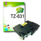 Compatible Label Tape TZ631 TZe631 12mm x 8m for P Touch