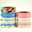 Paper Washi Masking Tape Christening Gift Wrap Sticky Adhesive Roll SOMI BABY