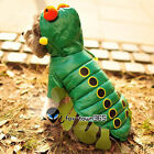 Autumn Warm Soft Pets Puppy Dogs Coat Cosplay Caterpillar Clothes Costume Hoodie