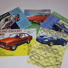 Vintage Style Retro Metal Advertising Sign Ford Classic Car Escort Cortina