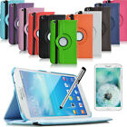"""360 Degree Rotating Case Cover for Samsung Galaxy Tab 3 8 8.0""""+Free Accessories"""