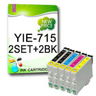 10 NON-OEM Printer Ink Cartridges For T0715 T0711 T0712 T0713 T0714