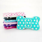 Fashion Cute 3D Bow Soft Silicon Cover Case Back Skin For Apple iphone 5 5G 6TH