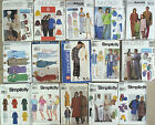 UNISEX ADULT paper patterns - choose from assorted designs & sizes