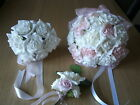 WEDDING BOUQUET, BRIDES, BRIDESMAID, FLOWERS GIRL, BASKETS, CORSAGES, PACKAGE
