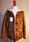 Damen- Fellimitatjacke Gr. 34 bis 38 von Flashlights braun
