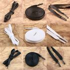 Flat Wax Waxed Shoelaces Strings Laces Shoestrings Bootlaces Brown Black White