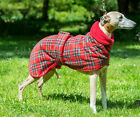WHIPPET / LURCHER / GREYHOUND FLEECE SNOOD HOUSE / KENNEL COAT 14'' TO 30'' ,