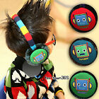 Korean Winter Snow Skiing Boy Baby Child kids Robot Earmuffs Ear Warmer Headwear