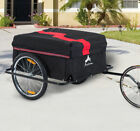 Aosom-Steel-Frame-Bicycle-Bike-Cargo-Trailer-Luggage-Cart-Carrier-For-Shopping