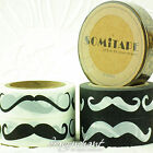 Movember Mustache Paper Washi Masking Tape Adhesive Roll Decorative Card Craft